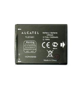 Комплектующие для телефонов Alcatel (АКБ)