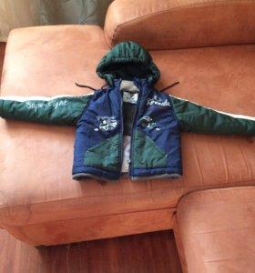 Куртка весенняя 80-86