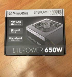 Блок питания Thermaltake Litepower 650w