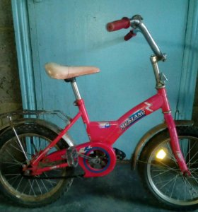 Велосипед детский состояние хорошее ездила девочка
