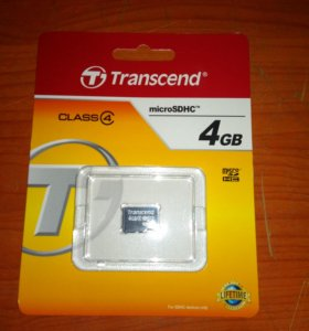 MicroSD Class 4