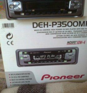 Pioneer DEH P3500 MP (USB и AUX нет!!!)