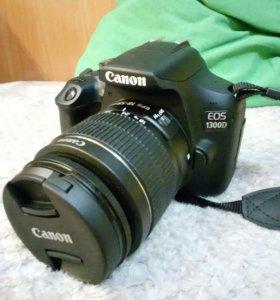 (можно обмен)Фотоаппарат зеркалка Canon EOS 1300D
