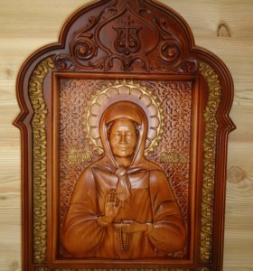 Икона Святой матроны.
