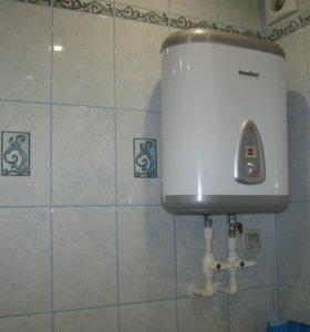Водопровод,канализация,отопление.Отделка...