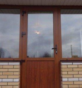 Пластиковые окна двери