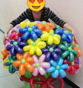 💐Прекрасные букеты из воздушных шаров!