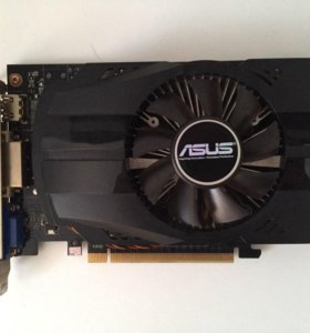 Видеокарта asus NVidia geforce GTX 750