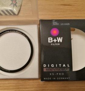 Cветофильтр B+W 010M XS-Pro UV-Haze MRC-Nano 67mm.