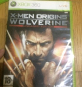 Диск x-men origins wolverine