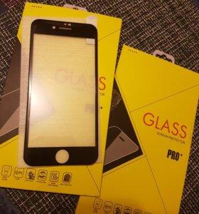 4D стекло на айфон 6