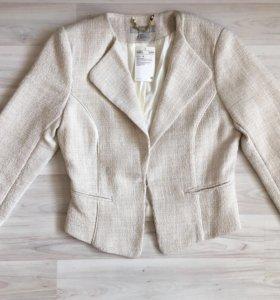 Пиджак новый и топ НМ xs