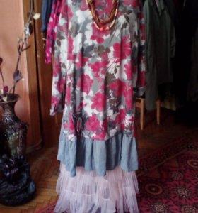 Платья -туники.