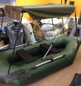 Лодка Патриот + тент зонтик