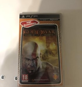 God of War: Chains of Olympus диск PSP