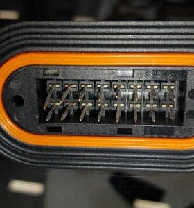 Разъем эбу блока MR на кабель и на блок