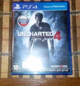Игра эксклюзив PS4 uncharted 4 Путь Вора