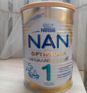 Nan гиппоалергенная от 0 мес