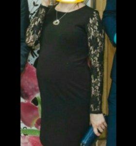 Вечернее платье для будущих мам