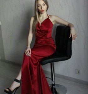 Вечернее платье в пол (прокат)