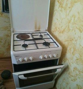 Кухонная плита комбинированная (газ/электро)