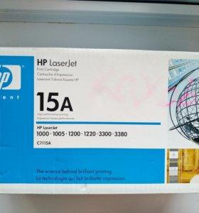 Картридж 15А (С7115А) для принтеров HP LaserJet