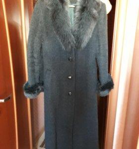 Пальто женское зима.
