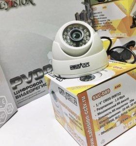 """Видеокамера купольная DVC-D89 OSD 3.6 1/4"""" CMOS"""