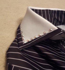 Рубашка и жилетка танцевальные