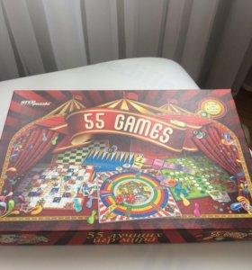 Настольная игра ( 55 игр)