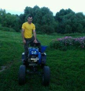 Мотоблок 12 лс( мини трактор)