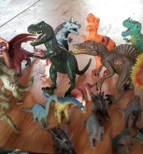 Драконы и динозавры .