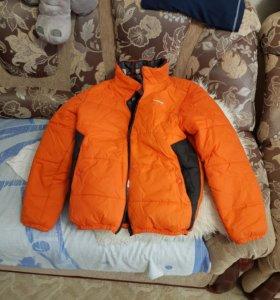 Куртка для мальчика двусторонняя