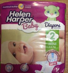 Подгузники Helen Harper Baby Mini, 16 шт, 3-6 кг