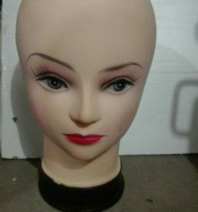 Манекен голова для шапок