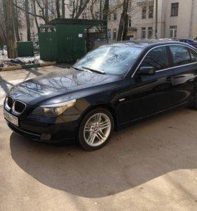 BMW 5 серия, V (E60/E61) Рестайлинг 550i 4.8 AT (367 л.с.)