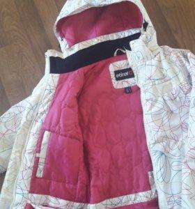 Лыжная куртка для девочки