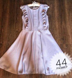 Платье лавандовое