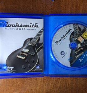 Rocksmith PS4 Игра и кабель