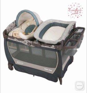 Манеж-кровать Graco
