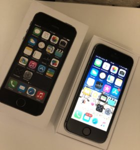 iPhone 5S , Space Gray , 32GB