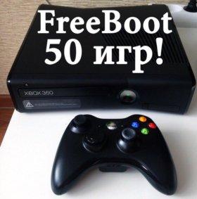 Xbox 360, 50 игр, 250GB, FreeBoot прошивка!