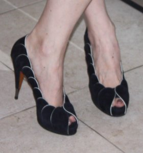 Nando Muzi замшевые туфли