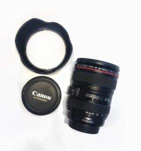 Объектив CANON EF 24-105 mm/f 4.0L IS USM