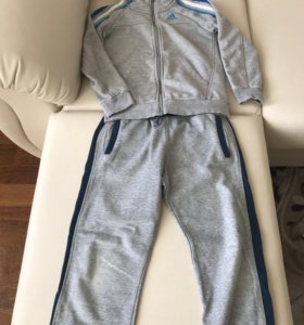 Кофта Adidas и штаны Zara р.128