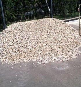 Песок, щебень, асф. крошка, чернозем, торф, и т.д.