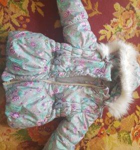Зимняя куртка + камбенизон