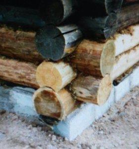 Замена венцов и подъем деревянных домов