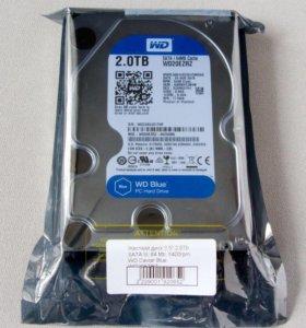 Продам новый жёсткий диск на 2 ТБ WD