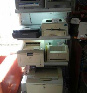 Принтеры в ассортименте . Легко заправить